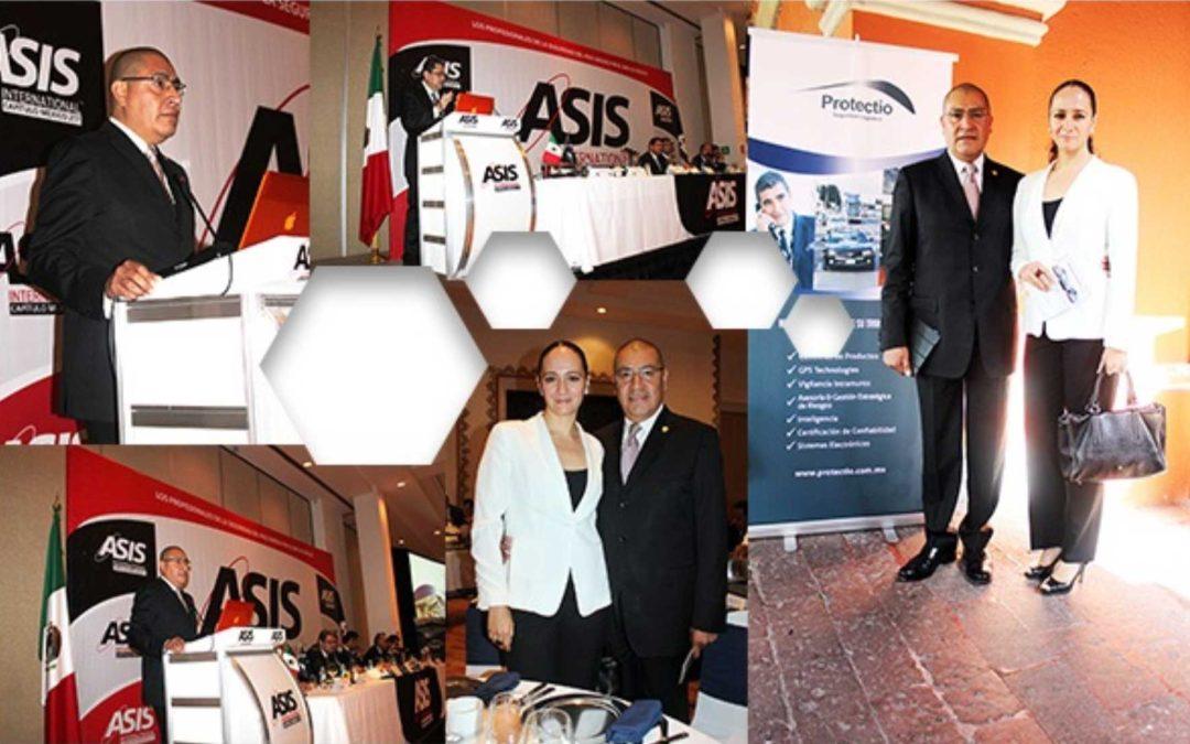 Protectio Seguridad Logística, Patrocinador ASIS Capítulo Mexico