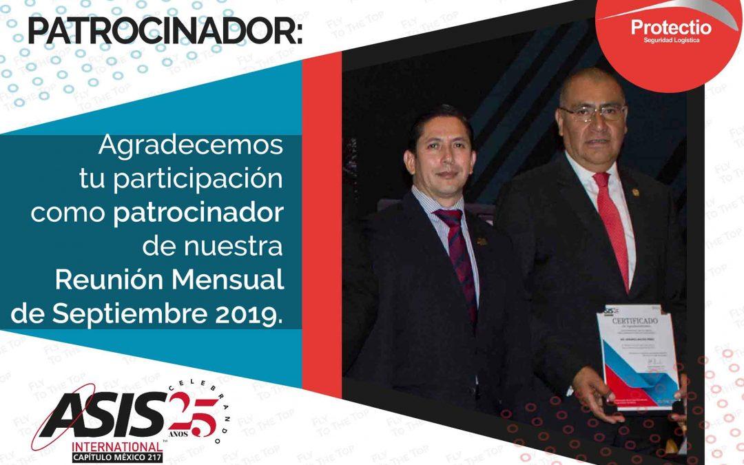 Protectio Seguridad Logística Patrocinador de ASIS Capítulo México